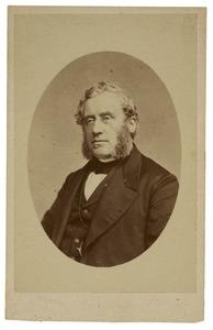 Portret van Johannes Petrus Hasebroek (1812-1896)