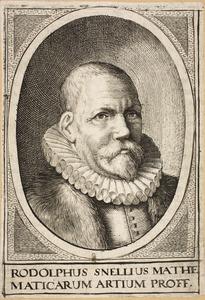 Portret van Rudolphus Snellius (1546-1613)