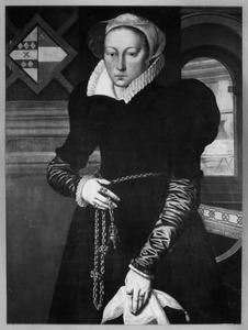 Portret van Guertje Arendsdr Deyman (1562-1631)