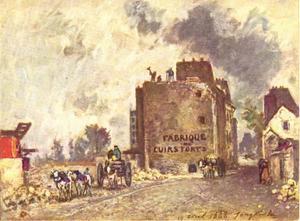 Afbraak van de Rue des Francs-Bourgeois Saint-Marcel, te Parijs