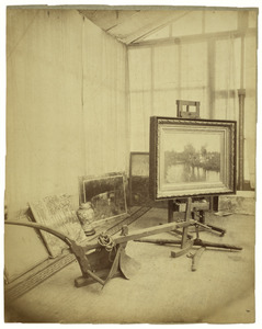 Het atelier van Anton Mauve te Laren