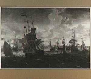 Hollandse vloot voor Amsterdam