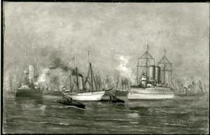 Pantserschip en driemaster