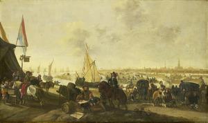 De verovering van de stad Hulst op de Spanjaarden. 5 november 1645