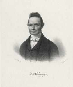 Portret van Johannes Hermanus Gunning (1802-1889)