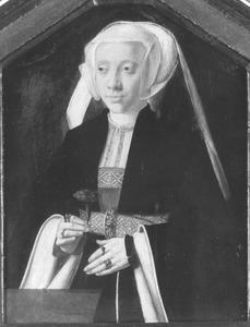 Portret van Margaretha van Houlz (?), echtgenote van kanselier Balthasar van Kerpen