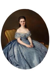 Portret van Jacoba Johanna van Hoey Smith (1848-1932)