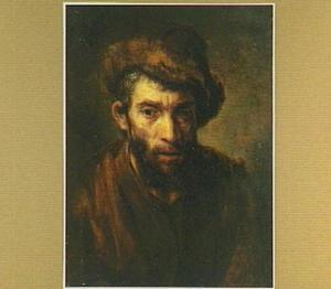Man met een bontmuts