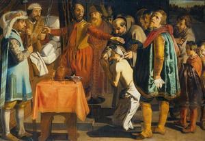 Willem III, graaf van Holland, geeft opdracht de baljuw van Zuid-Holland te onthoofden, 1336