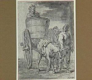Lazarillo wordt door de vissers als zeemonster door heel Spanje gevoerd (Lazarillo de Tormes dl. 2, cap. 5, p. 71)
