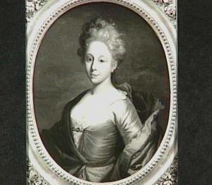 Portret van Carolina Jacoba Kemp (1696-1755)