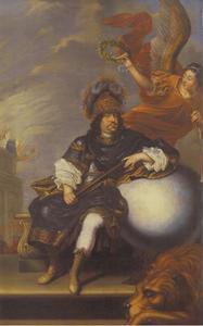 Portret van Karl X Gustav (1622-1660), koning van Zweden