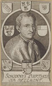 Portret van Jan Baptist van Helmont (1580-1644)
