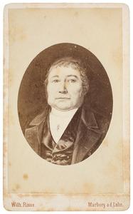 Portret van Johann Dietrich Briel (1790-1859)