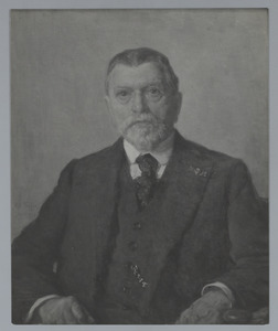 Portret van dr. G.H. Hintzen (1851-1932)