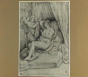 Amor en slapende Venus