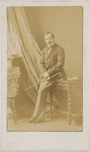 Portret van Willem Johan Anne Isidore graaf van Bylandt (1808-1884)