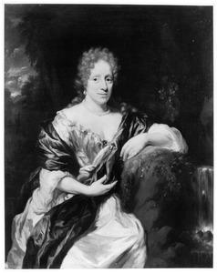 Portret van Anna Catharina de Sadelaer