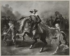 Ruiterportret van Frederik Hendrik van Oranje-Nassau (1584-1649) met zijn gevolg
