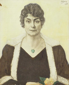 Portret van Sibilla Maria Antonia Ermina Haagen Smit (1868-1931)