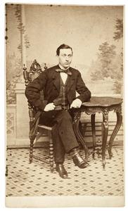 Portret van Hendrik Willem Tilanus (1832-1860)