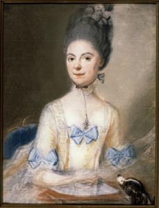 Portret van Josina Geertruid van Nassau -la Lecq (1743-1816)