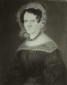 Portret van Carolina Conradina Elisabeth Funck (1803-1897)