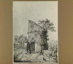 Utrecht, vervallen toren op de stadswal