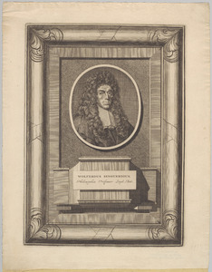 Portret van Wolferdus Senguerdius (1646-1724)