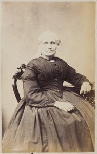 Portret van een vrouw uit familie Kleiterp