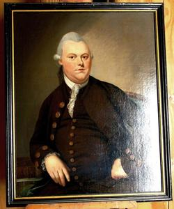 Portret van Damiaan Joan van Doorninck (1741-1787)