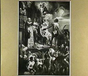 Marteldood van de heilige Felicitas en Perpetua