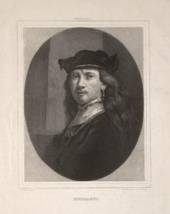 Portret van Rembrandt van Rijn (1606-1669)