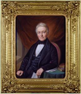 Portret van Abraham de Neufville (1787-1871)