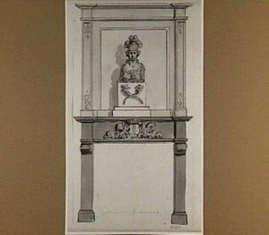 Schouw met Minerva en wapen van Dordrecht
