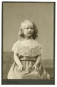 Portret van Cornelia Hermina Anna van Heemstra (1897-1988)