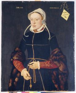 Portret van Maria van der  Dussen (....-....)