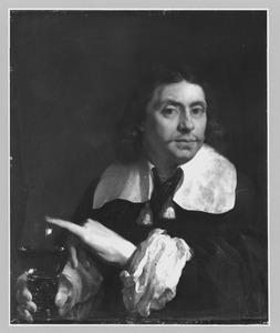 Portret van een man, genaamd Karel Dujardin (1626-1678)