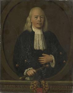 Portret van Abraham van Riebeeck (1677-1713)