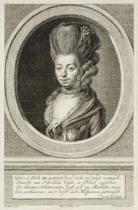 Portret van Juliana Cornelia barones de Lannoy (1738-1782)