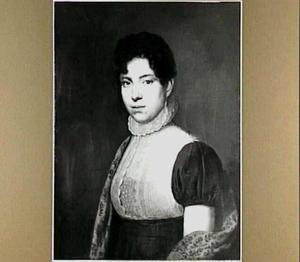 Portret van Maria Gijsberta Verhoesen (1780-1833), echtgenote van Jeronimo de Vries