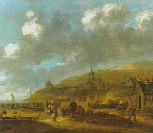 Het strand bij Scheveningen