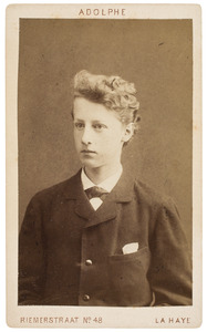 Portret van Gerard Vissering (1865-1937)
