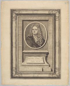 Portret van Johannes Jacobus Rau (1668-1719)