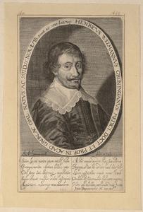 Portret van Hendrik Welmann (1611-1643)