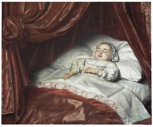 Portret van waarschijnlijk Catharina Margaretha van Valkenburg (1680-1682)