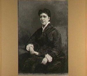 Portret van de Maria Johanna Kleine-Gartman