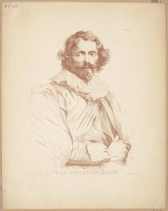 Portret van Lucas Vorsterman I (....-....)