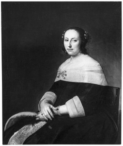 Portret van Judith Loreyn, echtgenote van Dammas Cornelisz. Guldewagen