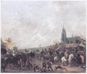 Markt te Scheveningen